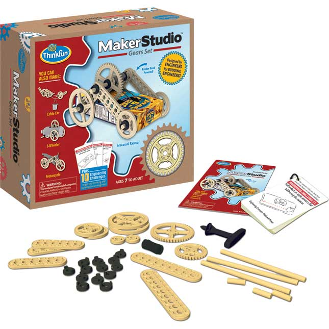 Maker Studio™ Gears Set