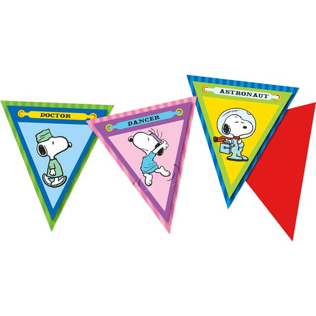Peanuts® You Can Be Anything Pennant Banner