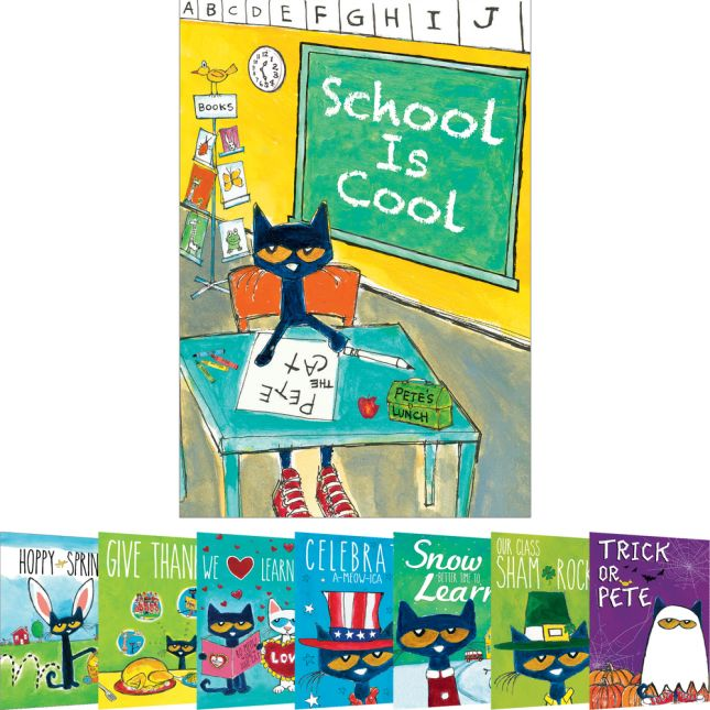 Pete The Cat® Holiday And Seasonal Poster Set