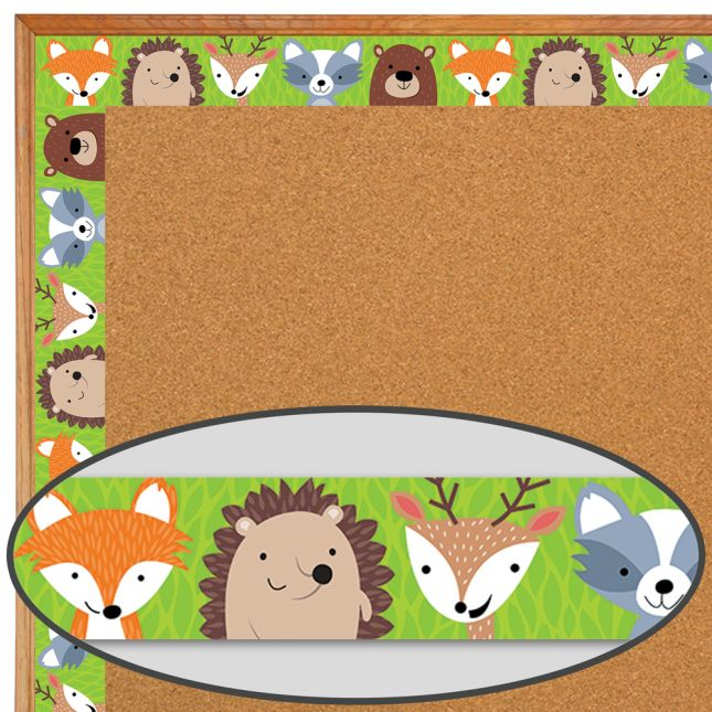 Woodland Friends Border Trim
