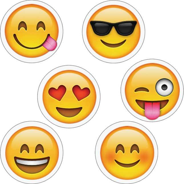 Emojis Hot Spot Stickers