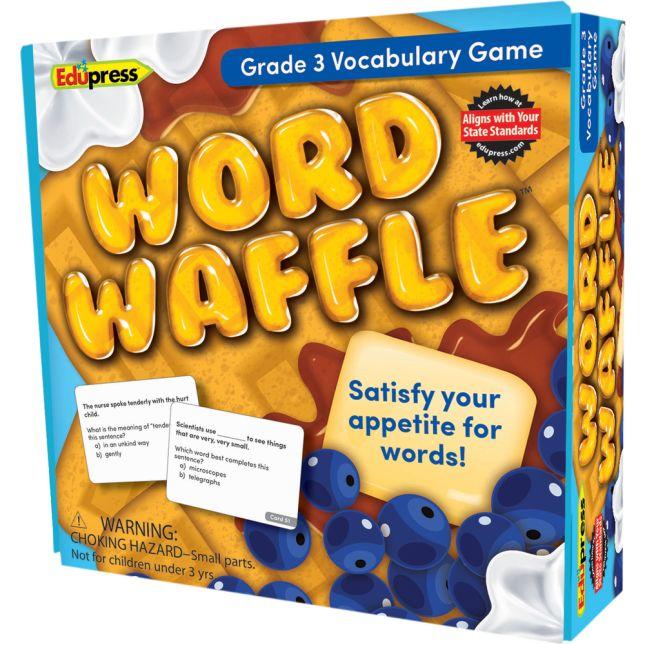 Word Waffle Vocabulary Game