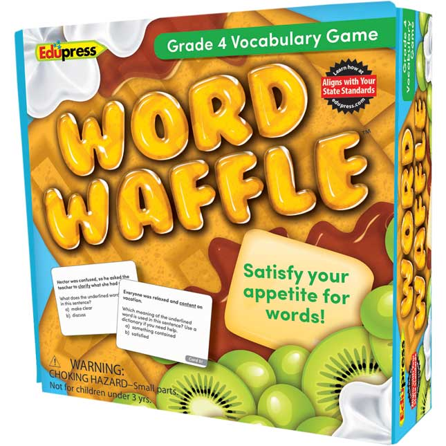 Word Waffle Vocabulary Game