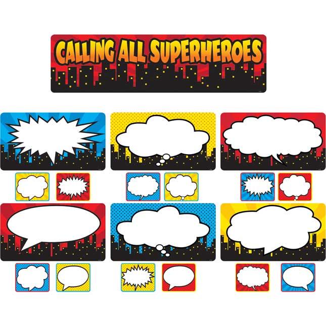 Calling All Superheroes Decor Kit