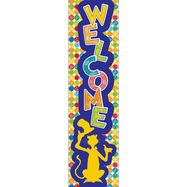 Spot On Seuss™ Vertical Welcome Banner