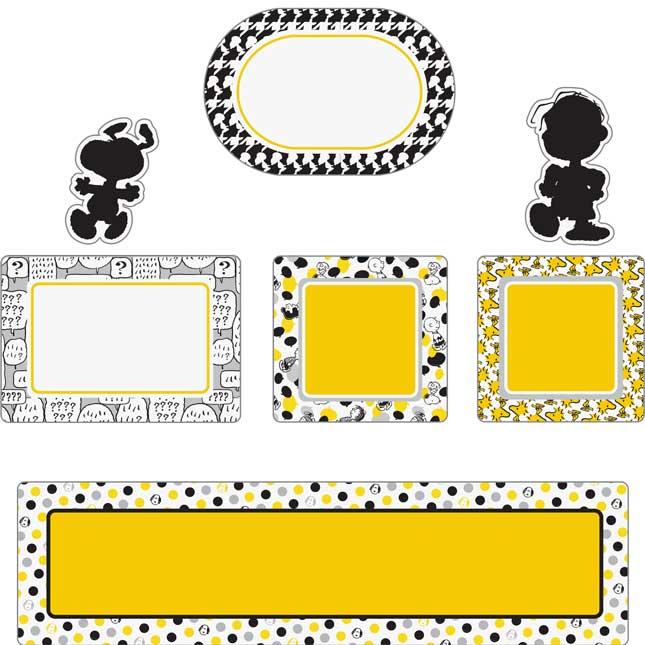 Peanuts® Touch Of Class Mini Bulletin Board Kit