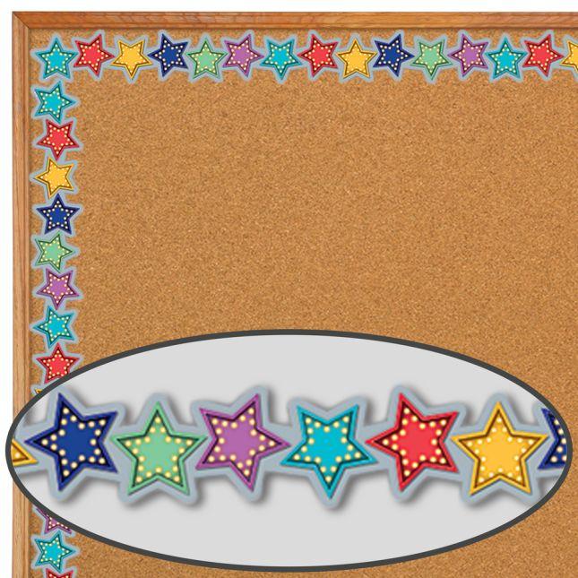 Marquee Stars Diecut Border Trim