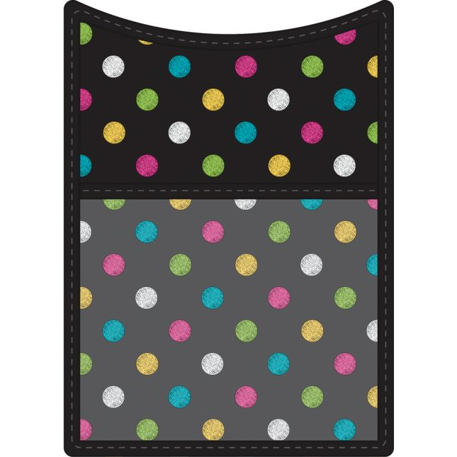 Chalkboard Brights Magnetic Storage Pocket - 1 storage pocket