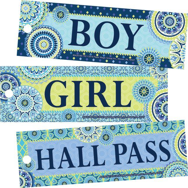 Blue Harmony Hall Passes