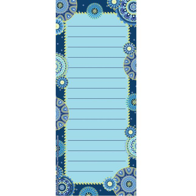 Blue Harmony Notepad - 1 notepad