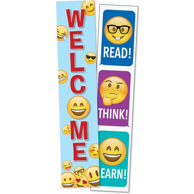 Emoji Fun Two-Sided Banner