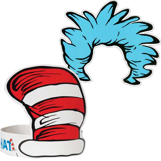 Dr. Seuss™ Wearable Hats And Thing Hair
