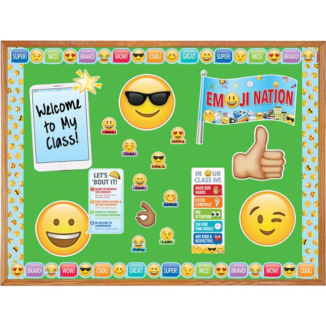 Emoji Decor Kit