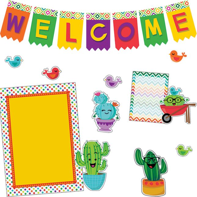 A Sharp Bunch Welcome Bulletin Board Kit