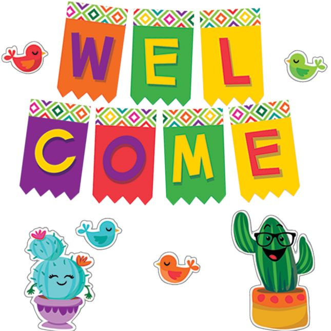 A Sharp Bunch Welcome Bulletin Board Kit - 61 pieces