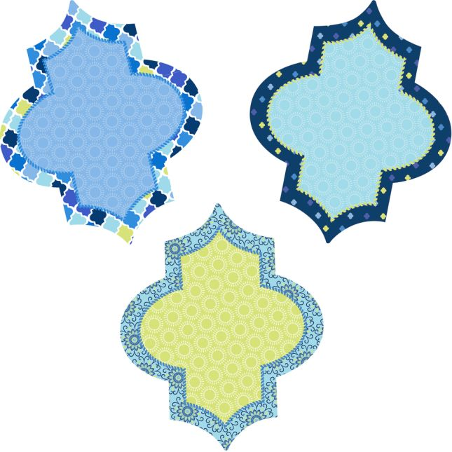 Blue Harmony Class Jobs Bulletin Board Kit