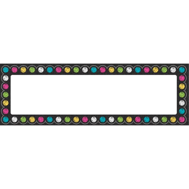 Chalkboard Brights Magnetic Labels