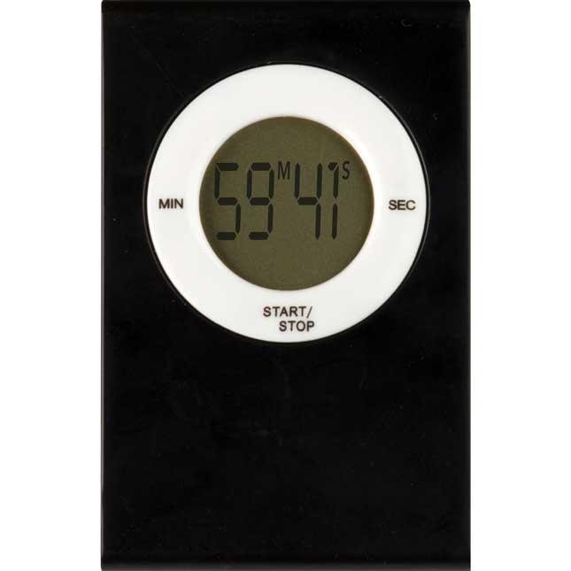 Magnetic Digital Timer - Black