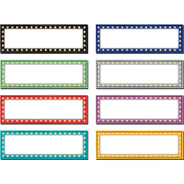 Marquee Magnetic Labels