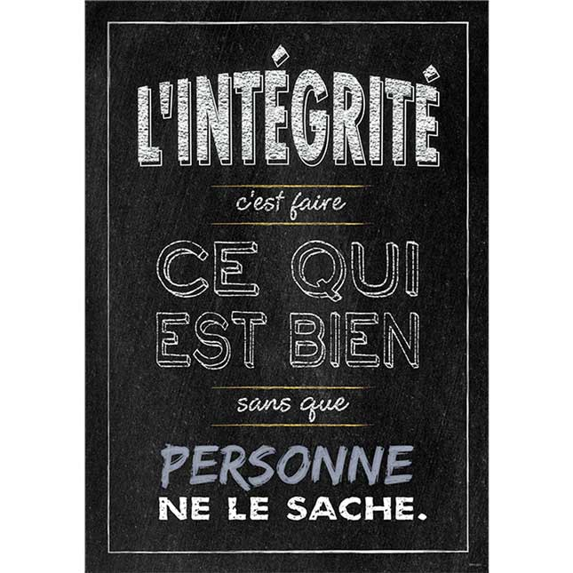 Chalk It Up! French Inspire U Poster 3-Pack