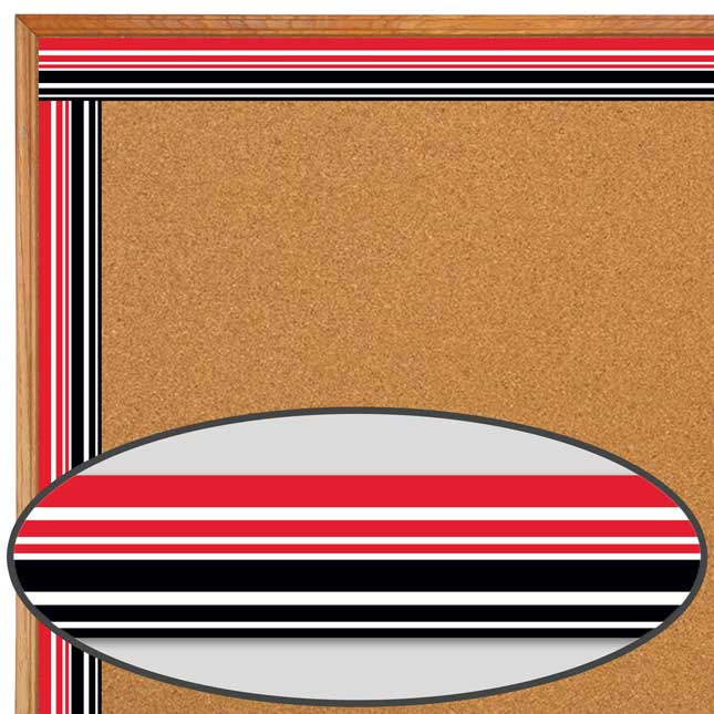 Buffalo Plaid Double-Sided Border Trim