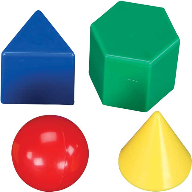 "1"" Geometric Solids"