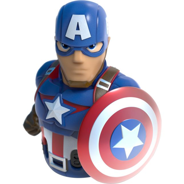 Ozobot Evo Captain America Action Skin