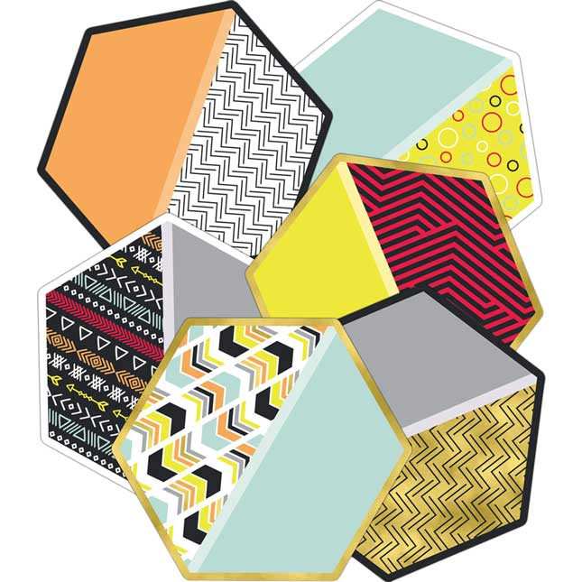 Aim High Hexagon Cutouts