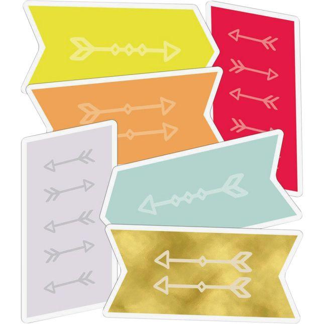 Aim High Follow Your Arrow Bulletin Board Kit - 113-piece set