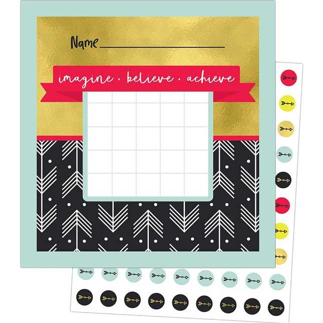 Aim High Incentive Charts And Mini Stickers