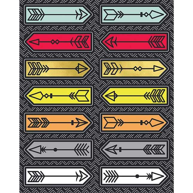 Aim High Arrow Stickers