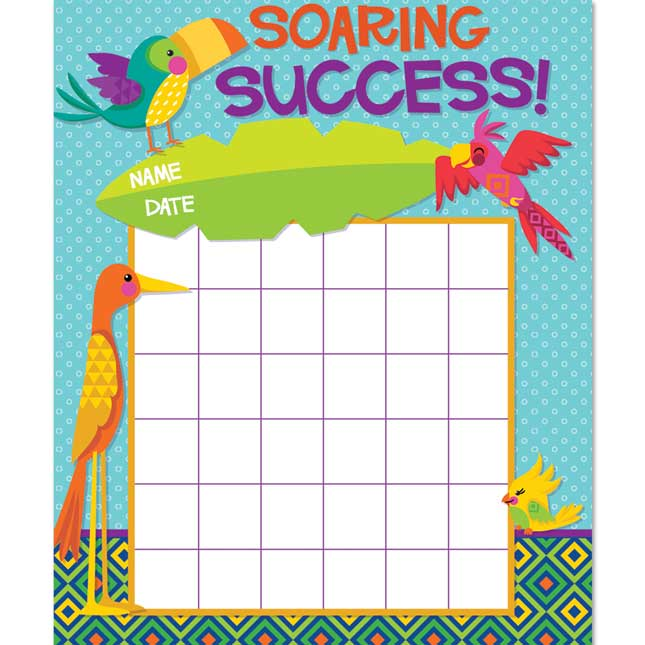You-Can Toucan Mini Reward Charts Plus Stickers
