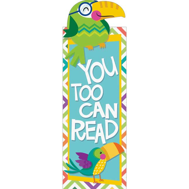 You-Can Toucan Bookmarks