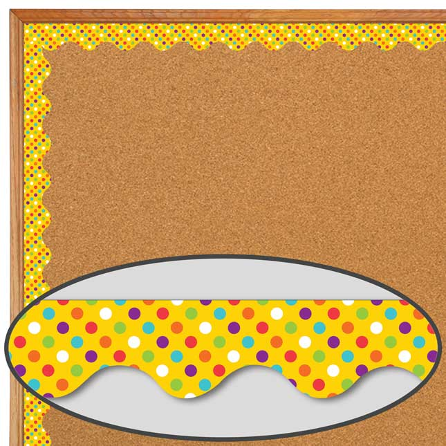You-Can Toucan Polka-Dot Deco Trim
