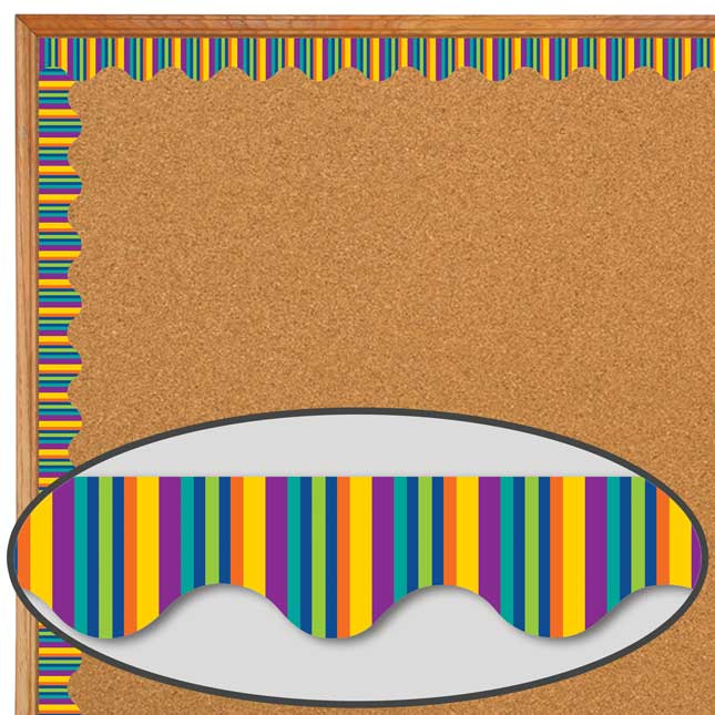 You-Can Toucan Stripe Deco Trim