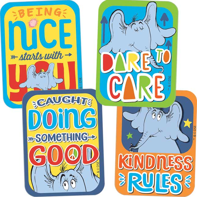Horton Hears A Who™ Assorted Motivational Stickers