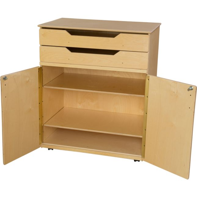 Wood Designs™ Mobile Cabinet