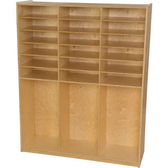 Wood Designs™ Storage Shelf - Without Trays