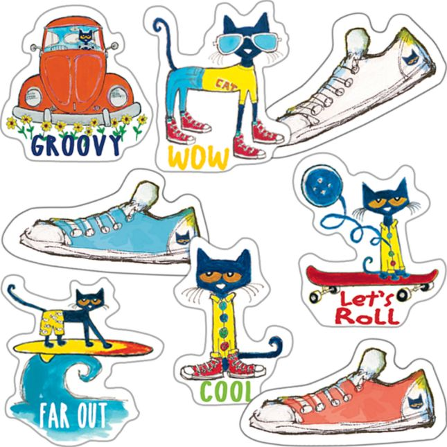 Pete The Cat® Groovy Sticker Collection