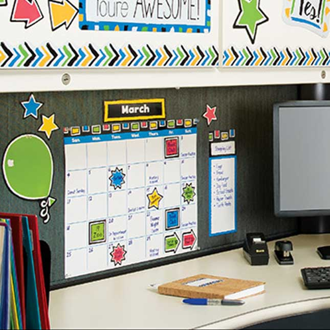 Bold Strokes Wipe-Off® Calendar Bulletin Board Set