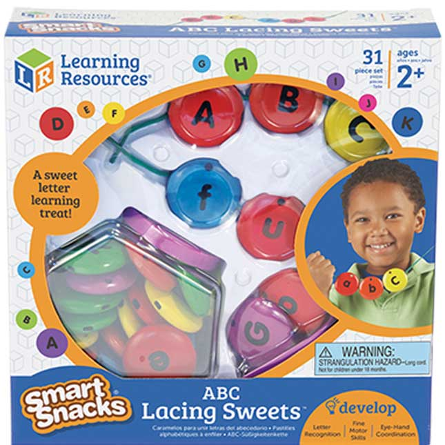 Smart Snacks® ABC Lacing Sweets™