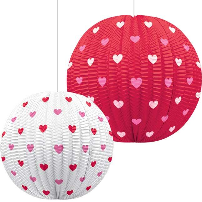 Valentine's Day Mini Paper Lanterns