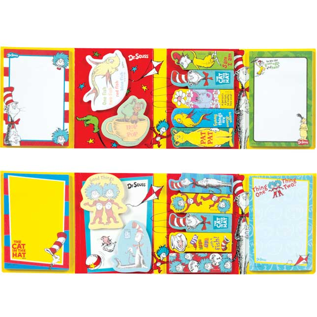 Dr. Seuss Sticky Notes and Flags Pack