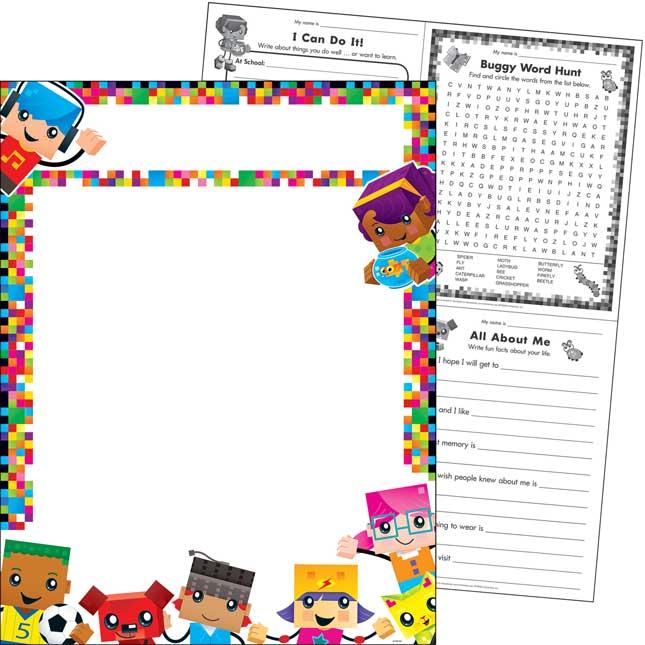 BlockStars™ Blank Chart