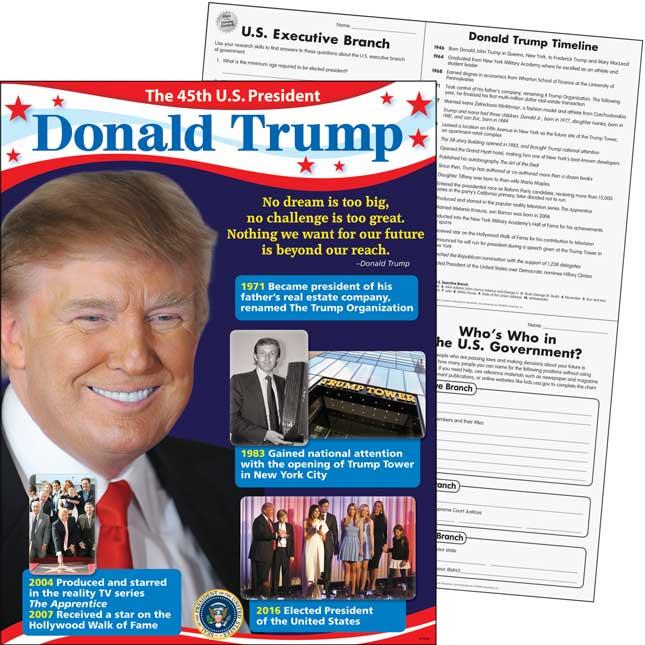 President Donald Trump Learning Chart