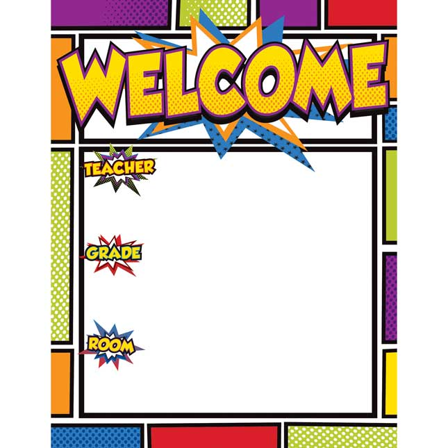 Super Power Welcome Chart