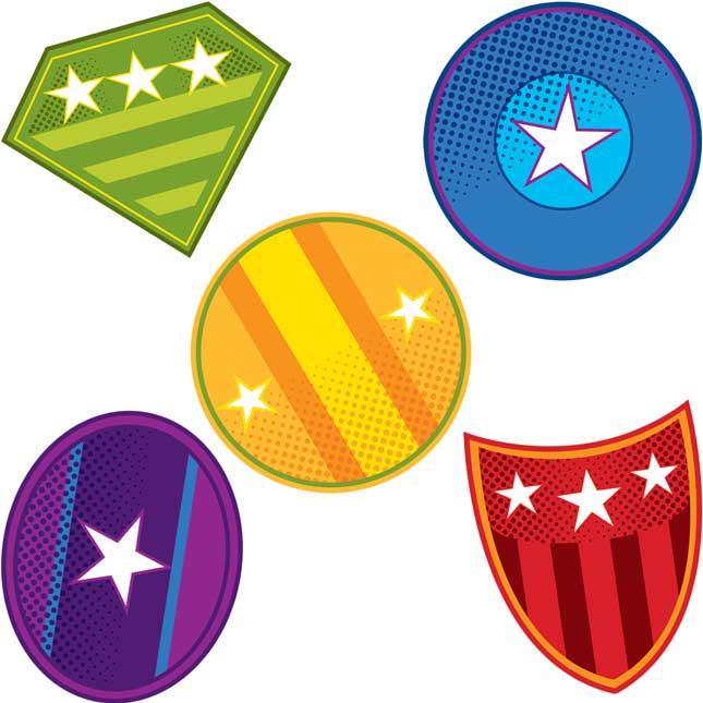 Super Power Shields Mini Cutouts