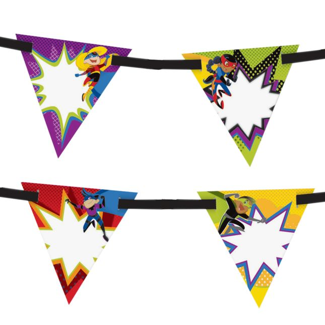 Super Power Bunting - 17-piece set
