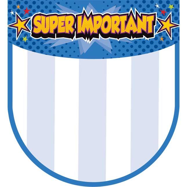 "Super Power ""Super Important"" Notepad"