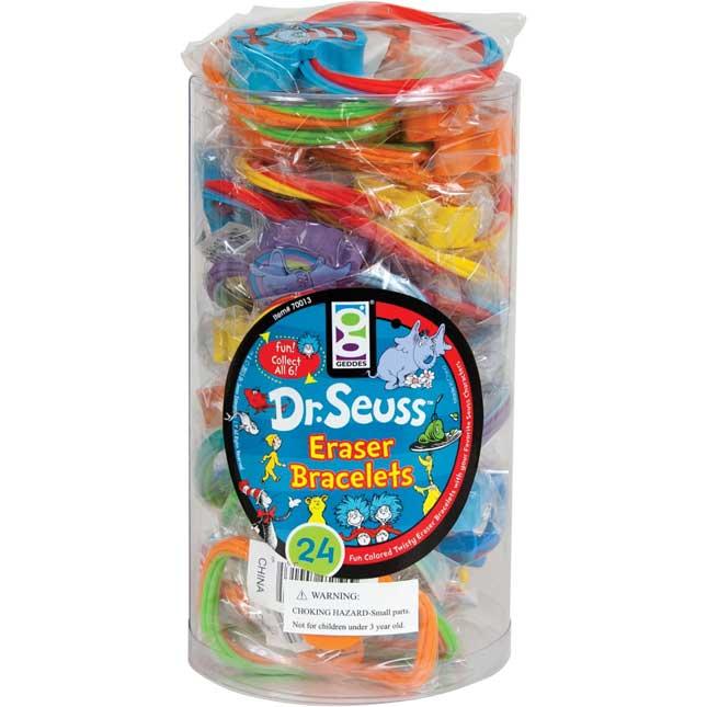 Dr. Seuss™ Eraser Bracelets